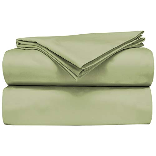 AB Lifestyles RV/Camper King Sheet Set 100% cotton 300tc Color: Sage Green Size: 72x80
