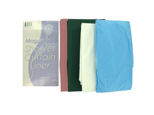 Magnetized shower curtain liner - Pack of 48