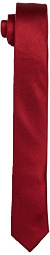 Royale Men's Selected Tie Red Necktie Noos Shdplain Port Red zPpwqH