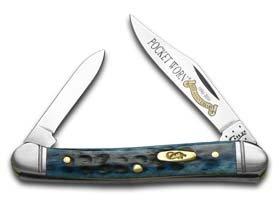 Case 26299 Pocket Worn Denim Bone 62109X SS Mini Copperhead Knife