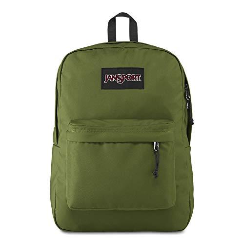 JanSport Black Label Superbreak Backpack - Lightweight School Bag | New Olive (Best Backpack For Travel 2019)