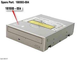 180593-004 Compaq internal DVD-ROM 16X IDE Quartz ...