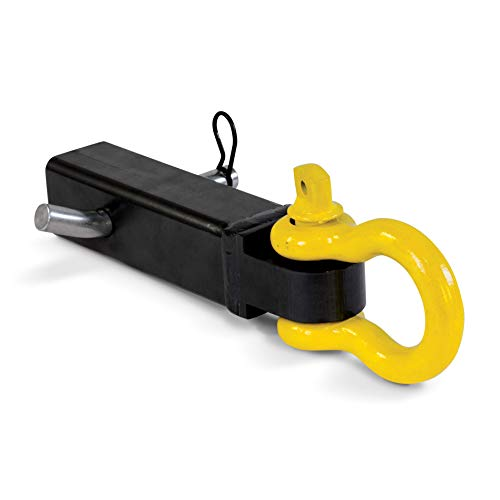 Champion 2-Inch Hitch Receiver Bracket with Shackle for 10,000-lb. Loads