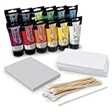 Nasco Monoprint Basic Class Kit - Arts & Crafts Materials - 9737941