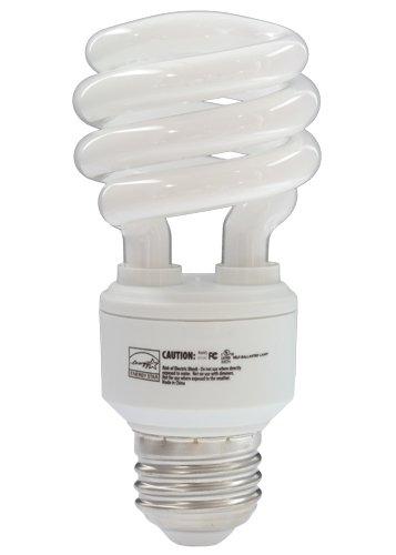 EiKO SP1327K Model SP13/27K Compact Fluorescent Light Bulb (Pack of 10), 120 Voltage Rating, 13 Watts, 210 mA, 69 Lumens per Watt, Medium Screw (E26) Base, 4.13''/105mm MOL, 1.81''/46mm MOD