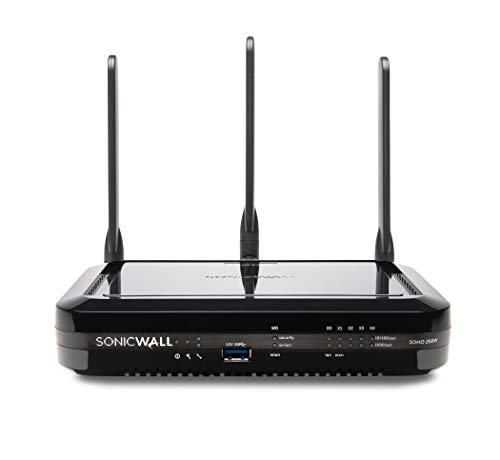 SonicWall | SOHO 250 Wireless N Base | Security VPN Firewall | 02-SSC-0940 (Best Wireless Router For Office)
