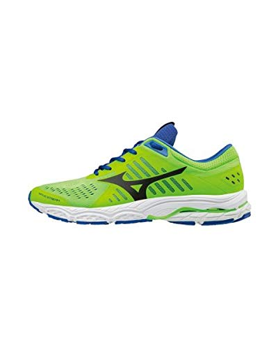 Verde Blu Stream Wave Mizuno Scarpe Running Uomo Da 6vnTqUw