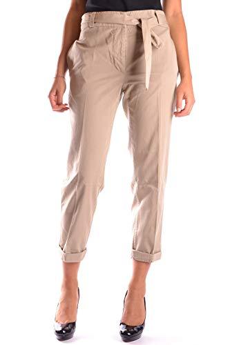 Femme Mcbi16356 Goose Beige Pantalon Coton Golden wRqE5dq