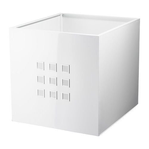 IKEA LEKMAN Storage Organizer Box Fit to Kallax Expedit Shelf DIFFERENT COLORS(White)