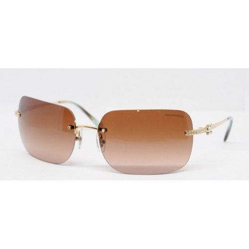 Gafas de Sol Tiffany & Co. TF3038B GOLD - BROWN GRADIENT ...