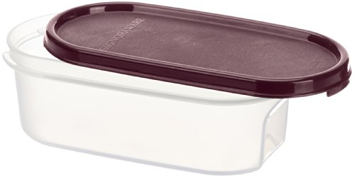 Signoraware Modular Container Oval No.1 Container, 500ml, Maroon