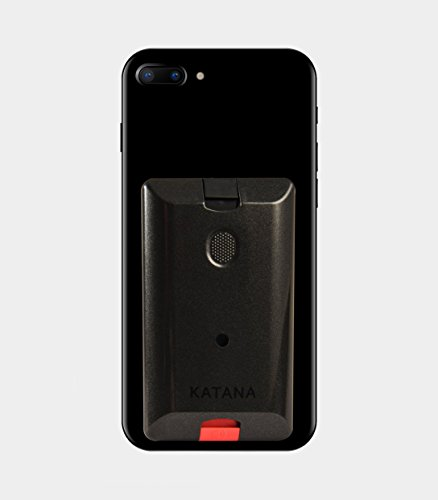 Katana Safety Arc: The Personal Security System That Attaches Directly to Your Smartphone. Includes 1 Free Month of the 24/7 Katana Response Center Service. (Steel Grey)