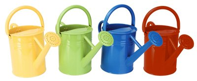 Panacea Products 84830 Traditional Watering Can, Assorted Colors, 1-Gal. - Quantity 8 by Panacea Products