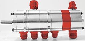 Peterson Fluid Systems 04-5002 R4 Dry Sump Oil Pump 1.200 Scavenge Rotors Left S