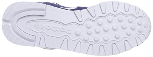 Reebok CL Leather Is, Zapatillas de Running Niños Azul / Blanco (Midnight Blue/White)