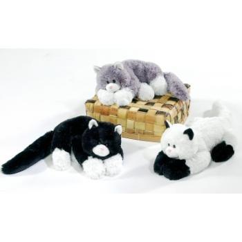 White Cat Soft Toy - 7