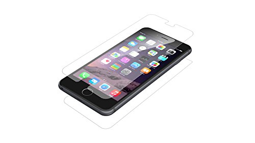 (ZAGG InvisibleShield HDX Screen Protector - HD Clarity + Extreme Shatter Protection for Apple iPhone 6 Plus / iPhone 6S Plus)