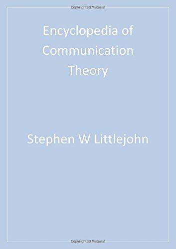 Encyclopedia of Communication Theory