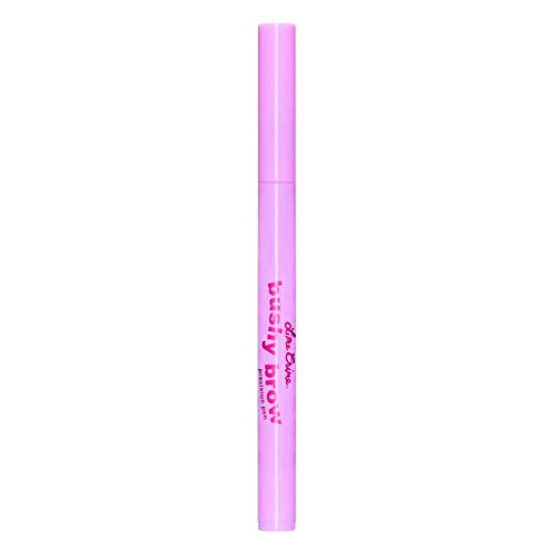 (Lime Crime Bushy Brow Precision Pen (Smokey). Black Brown Vegan Eyebrow Definer and Filler (0.0236oz / 0.7 mL))