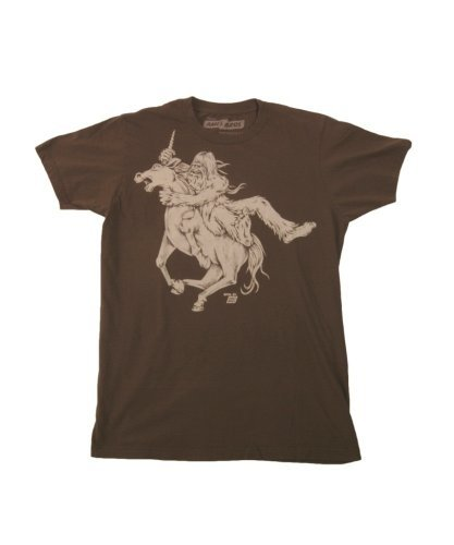 Ames Bros Clothing & Design Bigfoot vs Unicorn Dark Chocolate Brown L