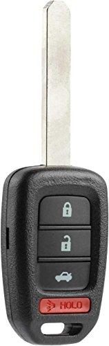 Car Key Fob Keyless Entry Remote fits 2013-2016 Honda Accord / 2014-2015 Honda CR-V / 2014-2015 Honda Civic (MLBHLIK6-1T)