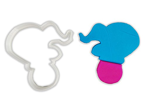 Circus Elephant On Ball Cookie Cutter - LARGE - 4 Inches