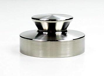 1000 g Tocadiscos placa de peso Peso Puck Peso Stabilizer de acero ...