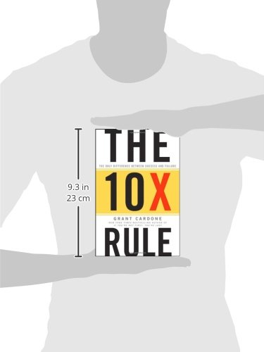 Large Product Image of The 10X Rule: The Only Difference Between Success and Failure