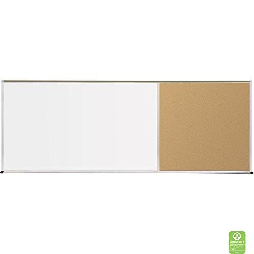 (balt 410-60-PC-X2 Whiteboard and Tackboards Combination Board)