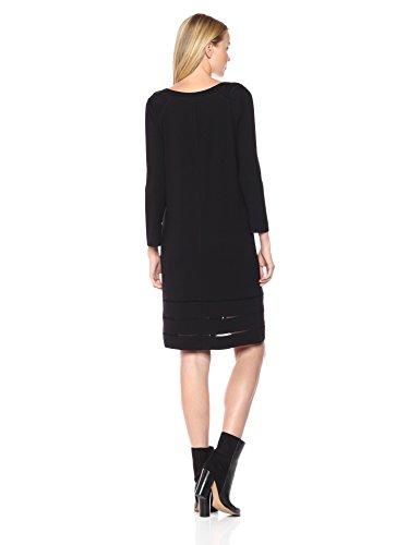 Everyday Dress Ponte Women's Black Onyx ZOE NIC EfUqwxzI
