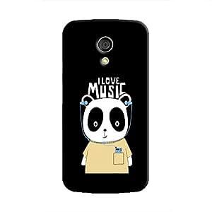 Cover It Up - Music Panda Moto G2 Hard Case