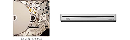 Pioneer USB3.0 support BDXL support slot-in portable Blu-ray drive BDR-XS06J Silver by Pioneer (Image #3)