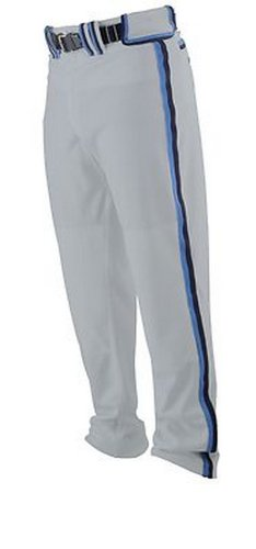 Worth Adult Softball Titan Pant - Braid - Grey/Columbia Blue/Navy
