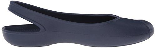 Blu Flat Donna Olivia Navy Crocs II W Ballerine YvxAwpq8