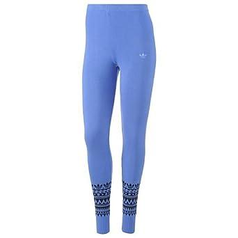 Originals Blueuk Leggings Trefoil Printed Ladies Adidas Womens wP8XNn0OZk