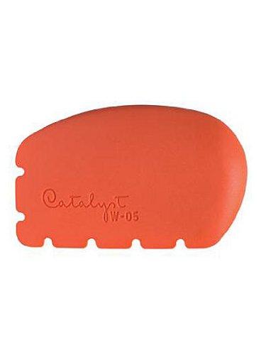 09f112e4862a6 Amazon.com: Princeton Catalyst Silicone Tools wedge no. 5 orange ...