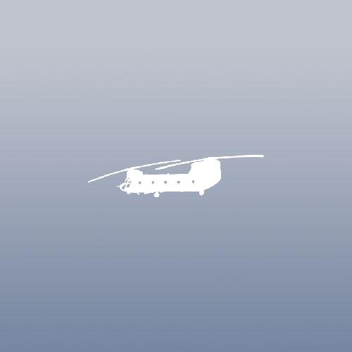 NOTEBOOK DECAL STICKER WINDOW CAR ADHESIVE VINYL BIKE ART WHITE CH 47 CHINOOK US ARMY HELICOPTER LAPTOP HELMET HOME DECOR DECOR WALL ART AUTO VINYL (Helicopter Helmet Army)