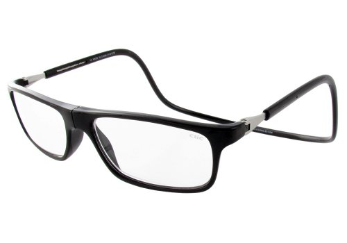 - Clic Magnetic Executive Reading Glasses in Black ; 2.50