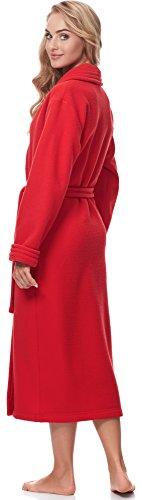 1n1st1s31 Vestaglia Donna Rosso A Merry Collo Style Scialle RCnqwaY
