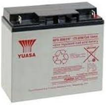 Yuasa NPX-80BFR 12V 20Ah High Rate AGM Battery (Flame Retardant)