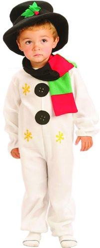 Medium Children's Snowman Costume