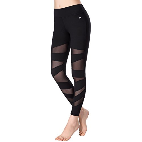 beepeak-womens-mesh-workout-tights-gym-sports-yoga-pant-leggings-s-black