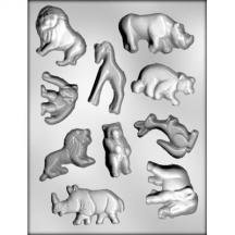 3 Pack- Zoo Animals Mold (Mold Zoo)