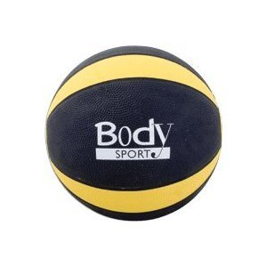 Body Sport Exercise Medicine Ball, 8 lbs - Yellow by Body Sport