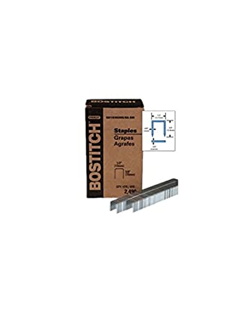 Bostitch sb1030205 - 82,5 2496pk 1/2 Inch corona 5/8 pulgadas alicates de pierna grapas: Amazon.es: Amazon.es