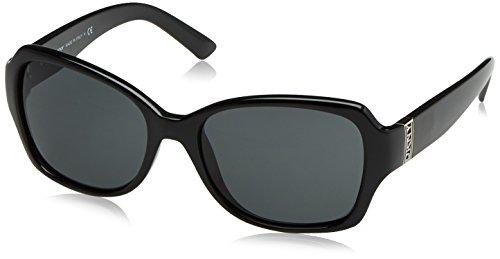 DKNY Women's Nylon Woman Square Sunglasses, Black, 57 - Low Designer Cost Sunglasses