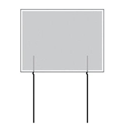 Corrugated Sign EZ Wire Stakes Set of 50 stakes - Yard Sign Stake - Use with 4mm Corrugated Signs