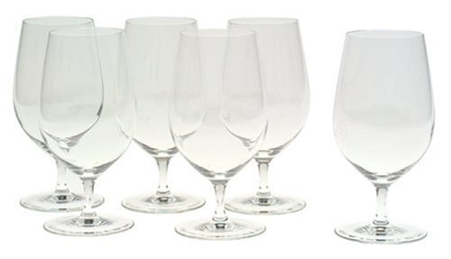 Riedel Vinum Gourmet Lead-Free Crystal Soft Drink/Water Glass, Set of -