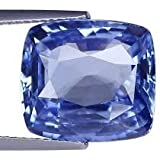 Astro Cart 6.25 Carat Certified Natural Neelam Oval Gemstone for Men and Women (Blue Sapphire)