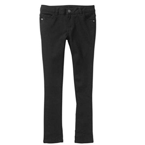 Price comparison product image Faded Glory Girls Super Skinny Jeans (5 Regular, Black)